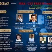 Kolhapur - MBAP - CET Workshop