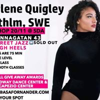 Shirlene Quigley - Dance Workshop Stockholm