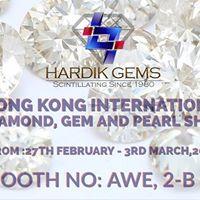 Hong Kong International Diamond Gem And Pearl Show 2018