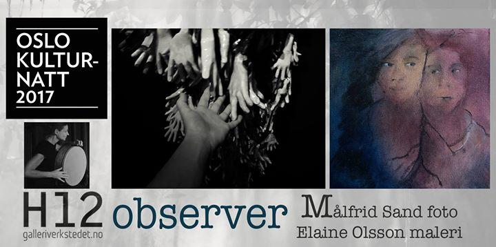 Observer - kunstutstilling og minikonsert