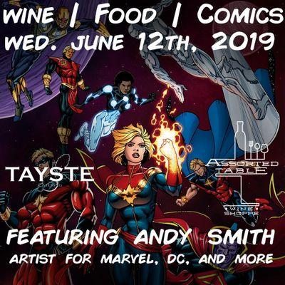 Wine  Food  Comics 2019
