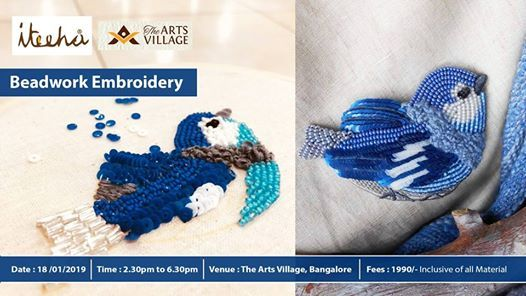 Beadwork Embroidery Workshop