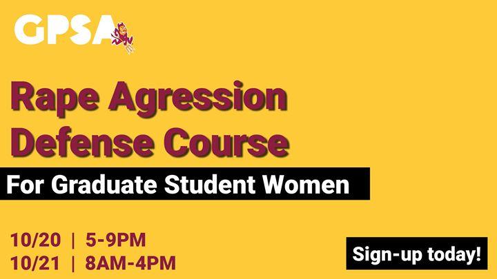 Rape Aggression Defense (RAD) Course