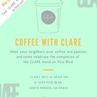 Coffee with CLARE