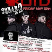 KOTD SQUAD 3 TOUR LIVE at The Station Music Hall