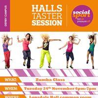 UoD Lonsdale Hall FREE Zumba class