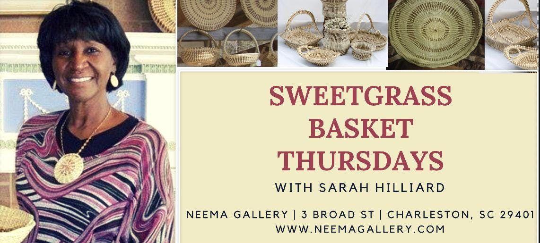 Sweetgrass Thursdays at Neema Gallery - Charleston