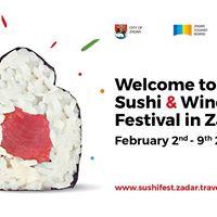 Tuna Sushi &amp Wine Festival Zadar 2018