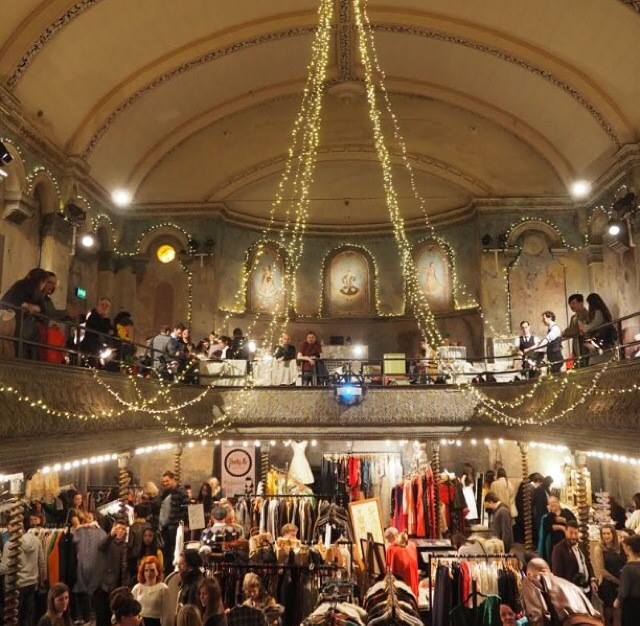 Late Night Vintage Shopping at Wiltons Music Hall