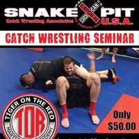 SHREVEPORT LOUISIANA CATCH WRESTLING SEMINAR