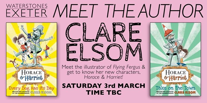 Meet Author & Illustrator Clare Elsom (Time TBC)