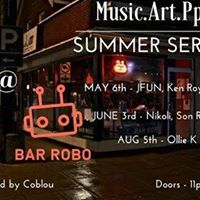 M.A.P Summer Series at Bar Robo Pre Glow Tribe Party