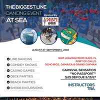 5th Annual Line Dancing Groove Cruise