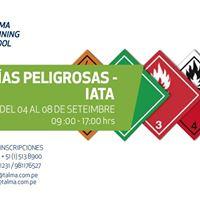 Curso - Mercancas Peligrosas IATA - Talma Training School
