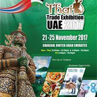 Thai Trade Exhibition Sharjah 2017