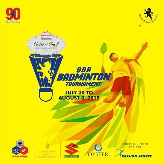 ODA Badminton Tournament