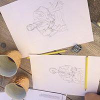 Tegne workshop (frihndstegning) fra 15r og op