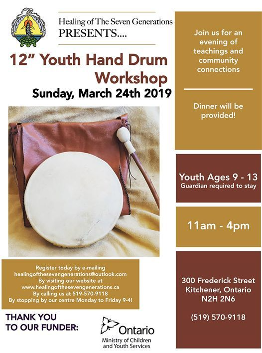 FULL - Youth Hand Drum Workshop