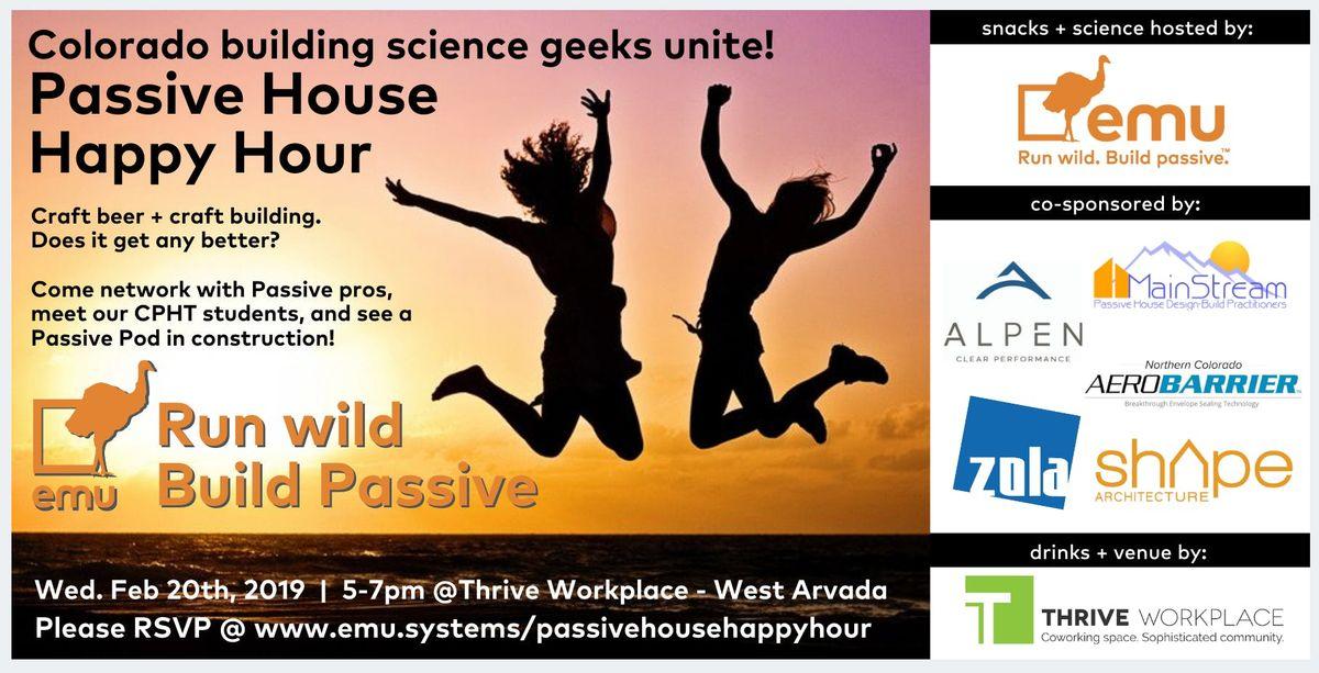 Colorado Passive House Happy Hour