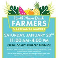 North Miami Beach Farmers &amp Artisanal Market
