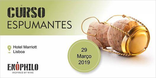 Curso de Espumantes (Lisboa) 29 de Maro de 2019
