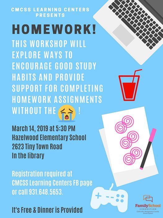 hazelwood elementary homework