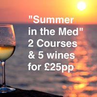 Moules Mediterranean Wine Night