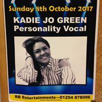 Kadie Jo Green - 8th Oct