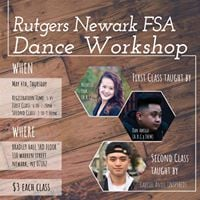 Rutgers Newark FSA Dance Workshop