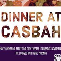 Benefit Dinner at Casbah