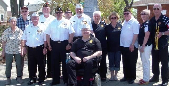 PFC Ted Stempien VFW Post-8821 Auxilliary Ceremony