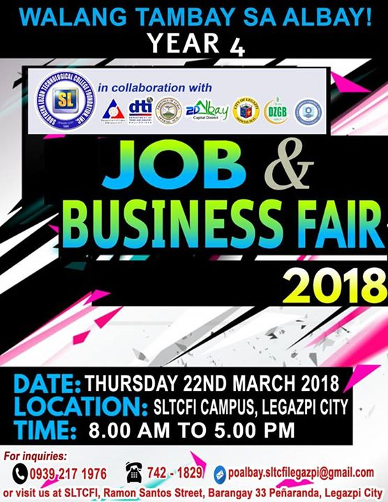 Job and Business fair 2018
