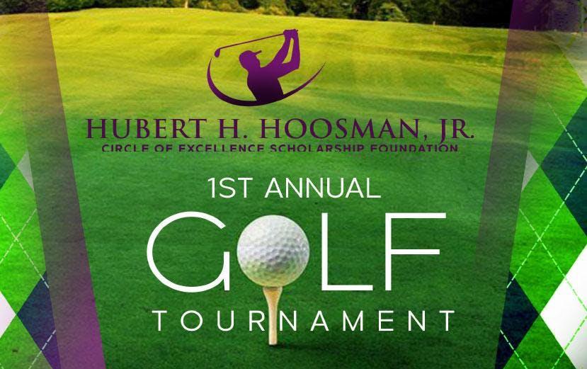 hubert h hoosman jr first annual golf tournament at old