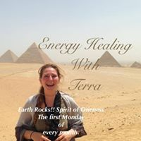 Energy Healing with Terra The first Monday of every month