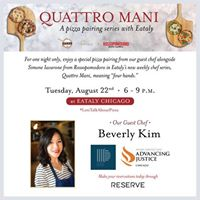 Support Advancing Justice  Chicago at Eataly with Beverly Kim
