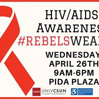 UNLV CSUN HIV &amp AIDS Awareness Event