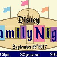 Family Night Disney