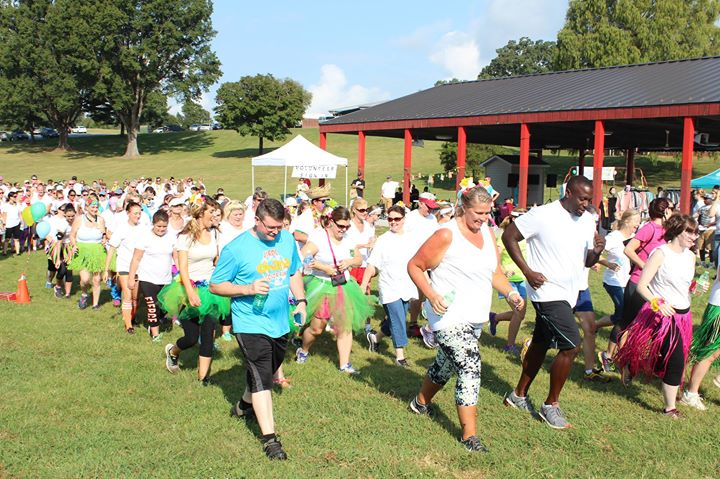 2nd Annual Jirdc Color Run At J Iverson Riddle Developmental Center