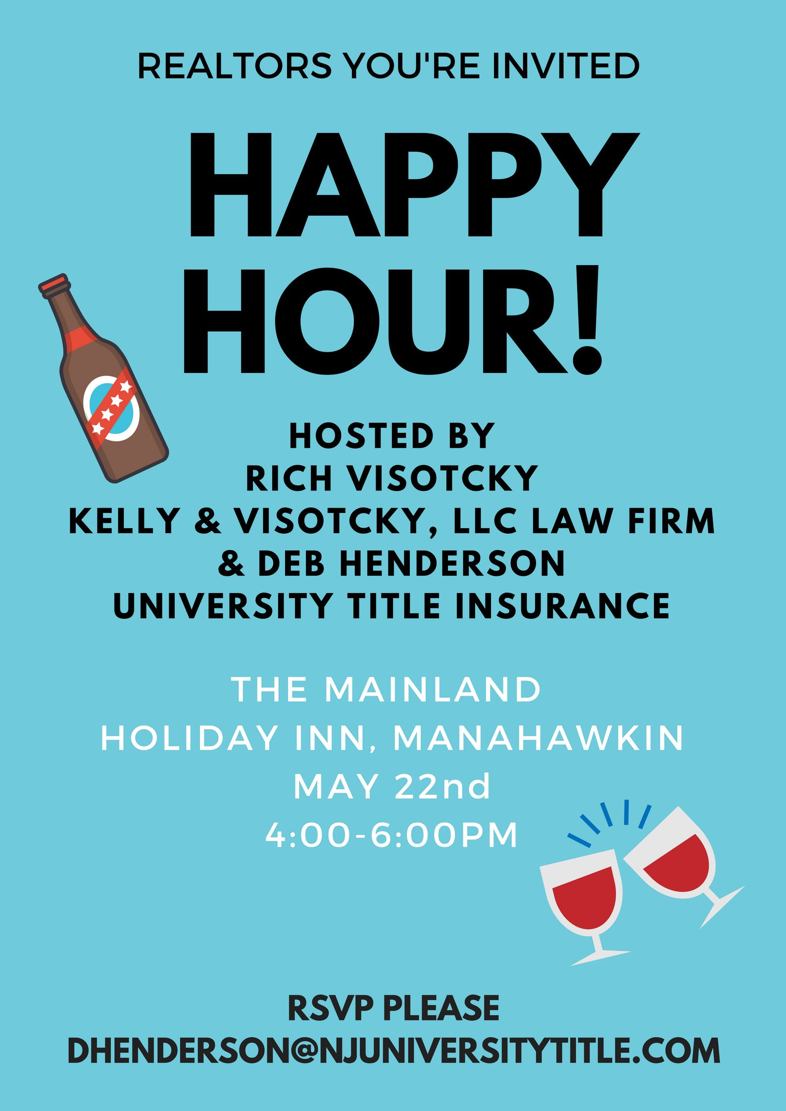 Free Realtor Happy Hour at the Mainland