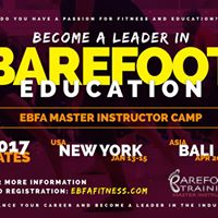 EBFA Master Instructor Training in Barefoot Education