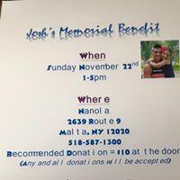 Joshs Memorial Benefit