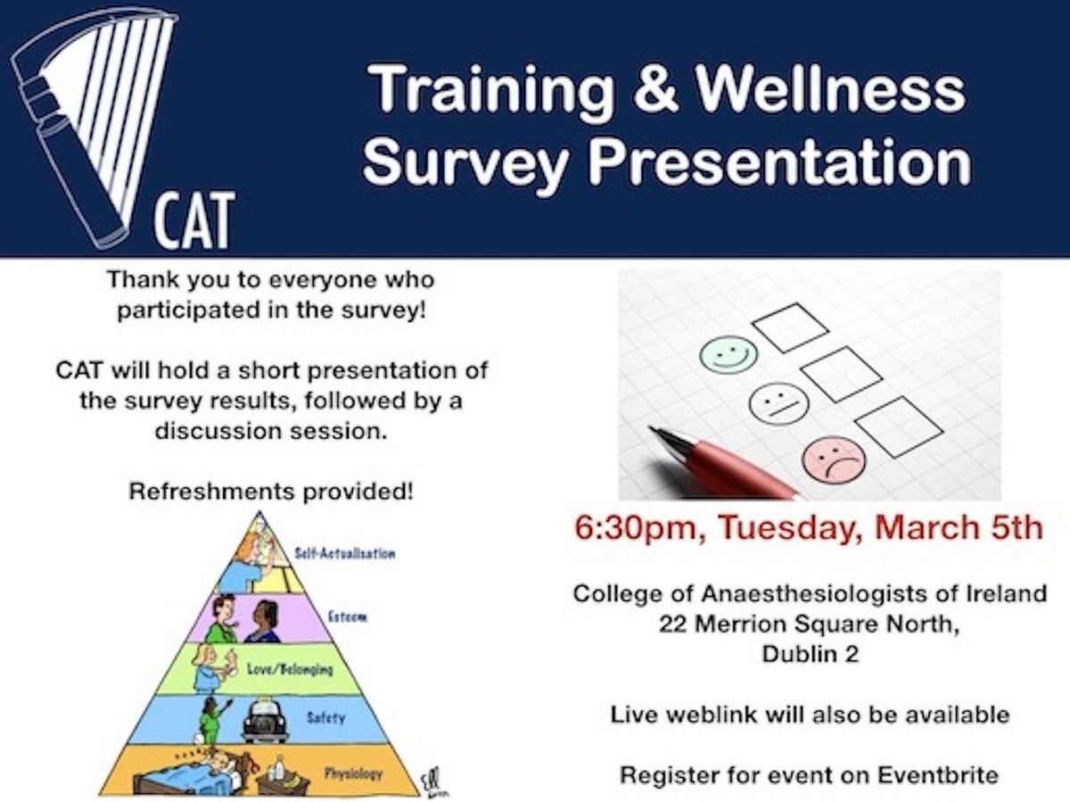 CAT Training & Wellness Survey Presentation