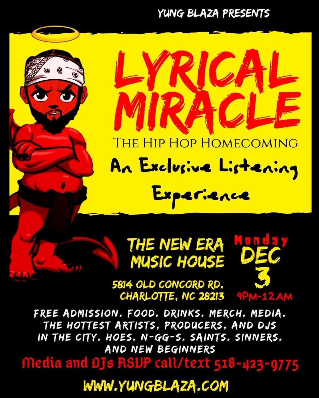 Lyrical Miracle: The Hip-Hop Homecoming at New Era Music