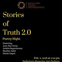Stories of Truth 2.0 Poetry Night