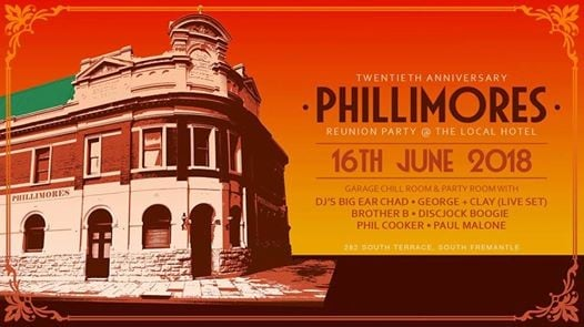Phillimores 20th Anniversary Reunion Party