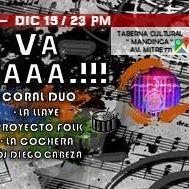 Evento cultural ALL VA La Otraaa.