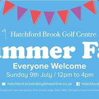 Hatchford Brook Golf Course Summer Fair 2017 Free Entry