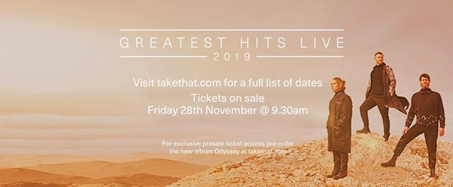 Take That - Greatest Hits Live - Norwich