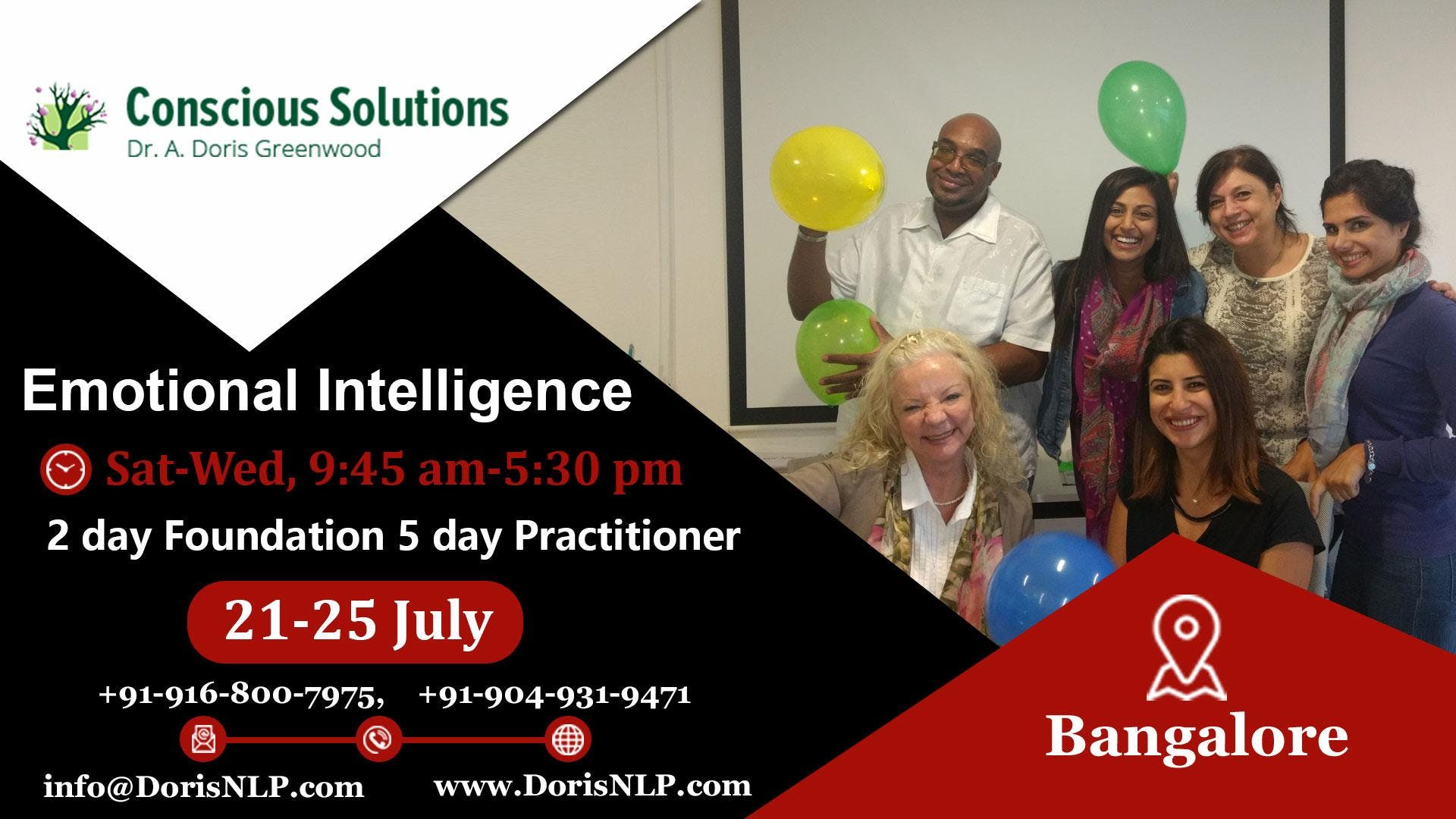 Emotional Intelligence Certifications Program At Bangalore Bangalore