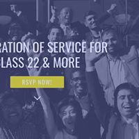 Celebration of Service for Class 22 &amp More